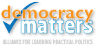 Democracy Matters logo